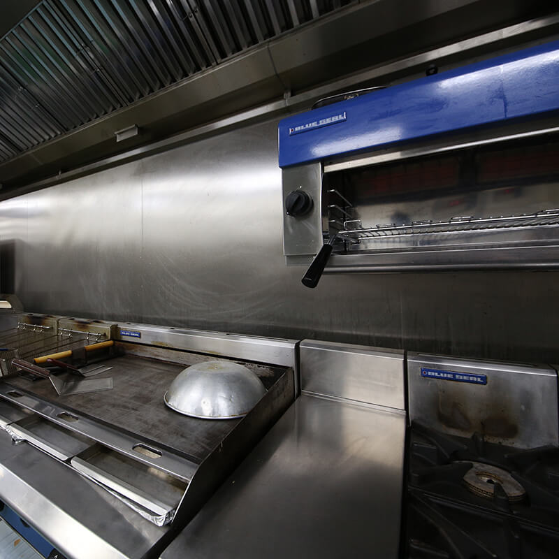 V-Rev kitchn grill and stainless steel
