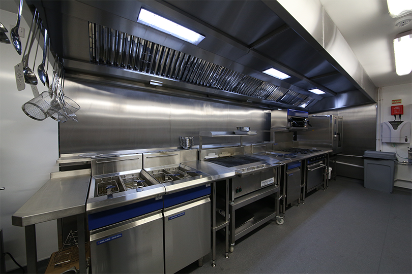 Commercial kitchen by Acme at NQ manchester