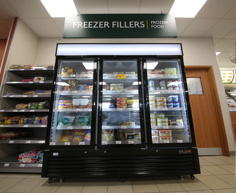 Rontec fridge in Morrisons daily