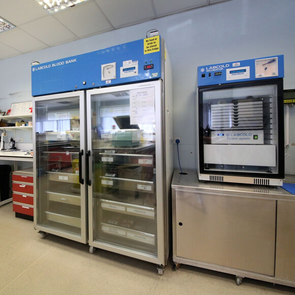 Leeds NHS Fridge Blood Bank 001.