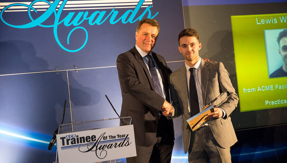 ACR trainee awards Acme winner Lewis Wilkinson