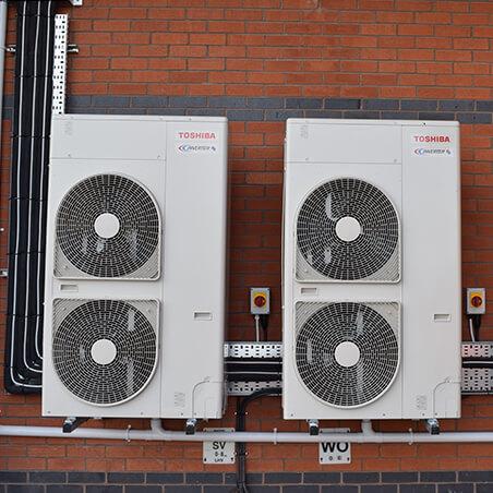 Leeds NHS AC Condensor