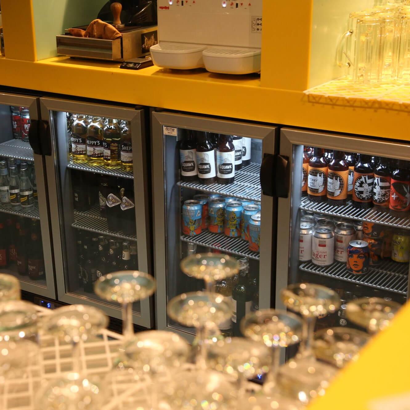 PROJECT 161212 V-Rev Bar Bottle Coolers Fridge